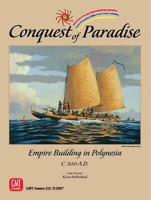 GMT Boardgame Conquest of Paradise - Empire Building in Polynesia Box NM