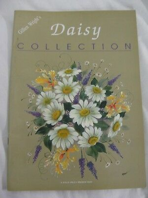 Gillien Wrights Daisy Collection Folk Art Painting Book Flower Lace Book Pattern
