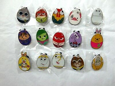 Disney Pin - HKDL - Easter Eggs Mystery Box 2018 (Complete Set 15 pins)
