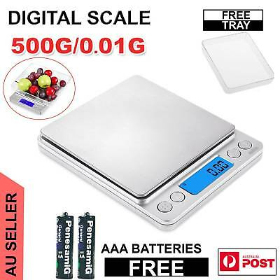 0.01-500g Kitchen Food Scale Digital LCD Electronic Weight Jewellery Scales 2019