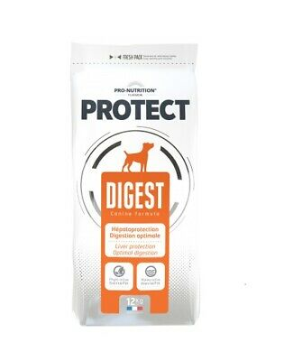 12kg PRO-NUTRITION FLATAZOR PROTECT Digest Veterinary Diet Hundefutter