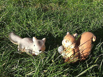 Latex Mould Moulds Mold.   Set Of 2 Cute Squirrels