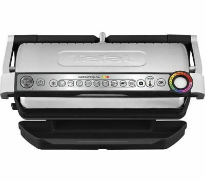TEFAL Optigrill XL GC722D40 Grill - Stainless Steel & Black - Currys