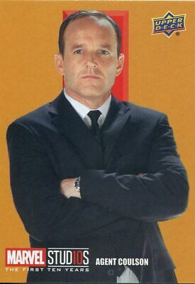 Marvel Ten [10] Years Roman Numerals Chase Card RN6 Agent Coulson