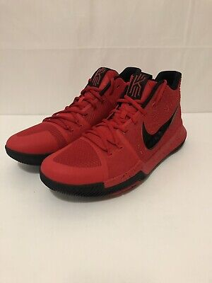 13c2c036d665 Nike Kyrie 3 Three Point Contest Candy Apple Red US 12 Red 852395 600 DS