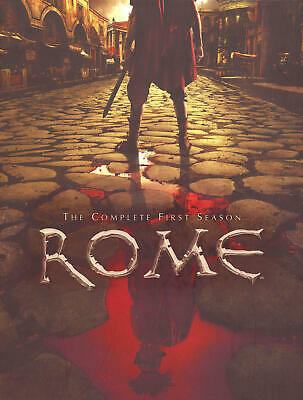 Rome: The Complete First Season (DVD, 2006, 6-Disc Set)