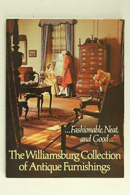 The Colonial WILLIAMSBURG Virginia Collection of Antique Furnishings 1978 2nd Ed