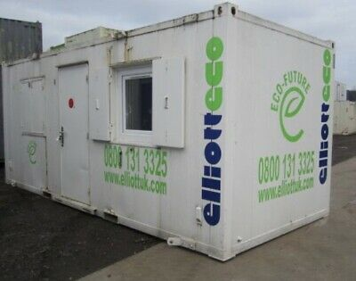 20X 8ft Anti vandal Office, Site Cabin, Canteen, staff room, Drying Room NO VAT