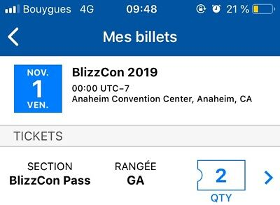 BlizzCon 2019 Tickets  [Includes Commemorative Statues and Virtual Codes]