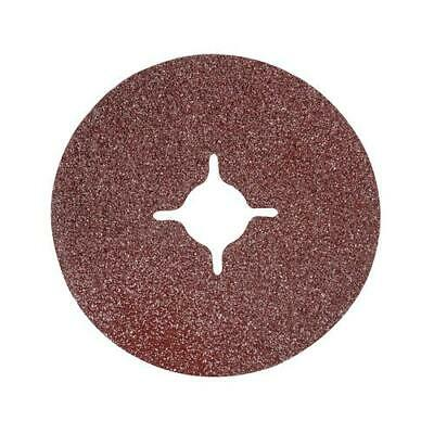 "Heavy duty aluminium oxide resin backed fibre discs 115 x 22.23 (4 1/2"") 993050"