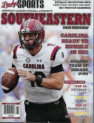 Lindy's SEC College Football 2019 Preview USC on Cover