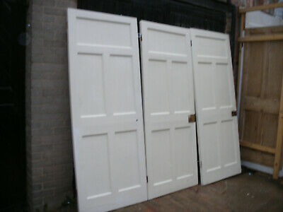 Reclaimed 1920s / 1930s 5 panel pine doors. (7 available)