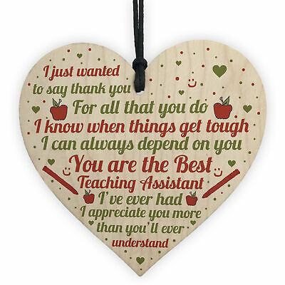 Teaching Assistant Thank You Gifts School Nursery Pre School Leaving Gifts