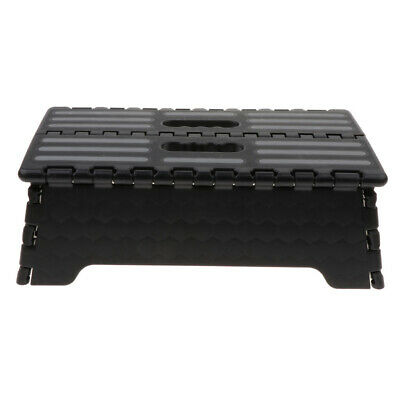 Portable Folding Step Stool Extra Wide HeavyDuty Non-Slip for Indoor Outdoor