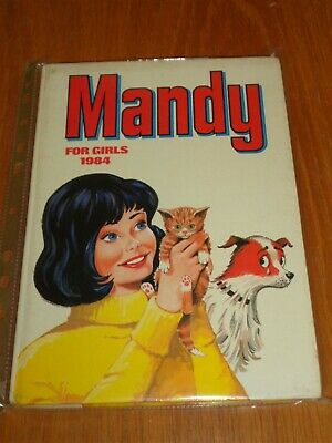 Mandy For Girls 1984 British Annual Nice Clean Copy Fn<