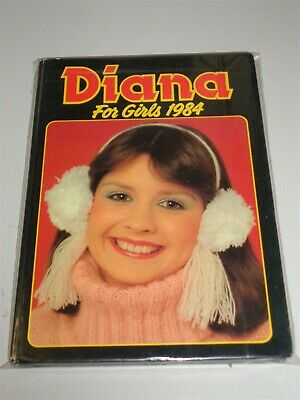 Diana For Girls 1984 British Annual Fn- <