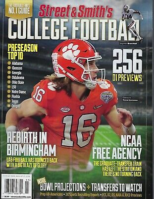 Street & Smith's College Football 2019 Preview Clemson