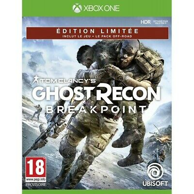 Preordine 4 ottobre 2019 - GHOST RECON BREAKPOINT Limited Xbox One
