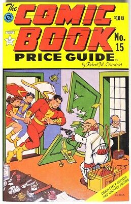 ESA3413. OVERSTREET The Comic Book Price Guide 15th Edition (1985) SHAZAM Cover
