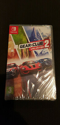 Gear Club Unlimited 2 for Nintendo Switch (NEW/SEALED)