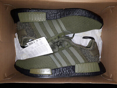 EU EXCLUSIVE ADIDAS NMD R1 OLIVE GREEN Gr.42 UK 8 boost AQ1246 runner xr1 cs1