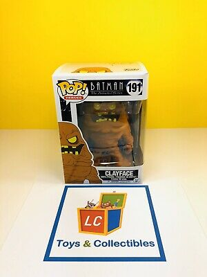 Funko POP - Cartoon - Batman The Animated Series - Clayface #191 - BTAS