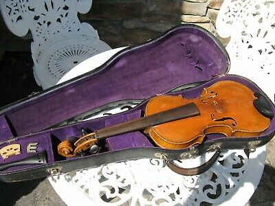 Antique Vintage Stainer Pre 1925 Violin With Case