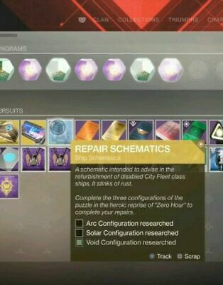 Destiny 2 OUTBREAK PERFECTED SHIP AND CATALYST FULL COMPLETION  PS4 (SALE)