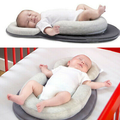 Newborn Baby Anti-rollover  Pillow Prevent Crash Sleep Cushion Infant Breathable