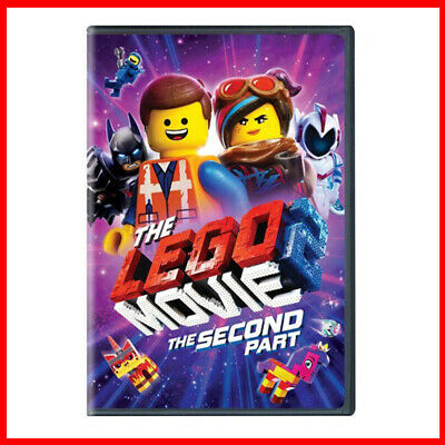 The LEGO Movie 2 The Second Part DVD - FAST POSTAGE - BRAND NEW & SEALED
