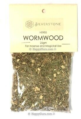 """""""Wormwood"""" 25gm Herb Incense Silverstone Brand Sacred Smudge Magickal"""