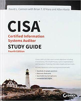 [PDF] CISA Certified Information Systems Auditor Study Guide 4th Edition by D...