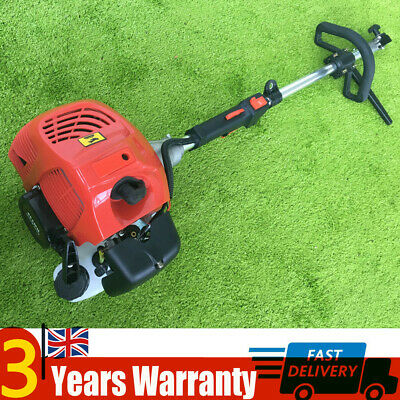 52cc Gas Power Handheld Cleaning Sweeper Broom Driveway Turf Artificial Grass UK