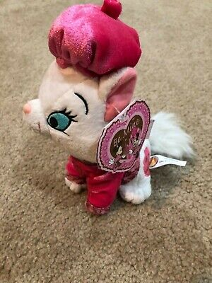 2008 Valentine MARIE from The Aristocats Disney Mini Bean Bag Plush - NEW