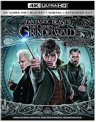 Fantastic Beasts: The Crimes of Grindelwald (4K Ultra HD Blu-ray/Blu-ray, 2019,