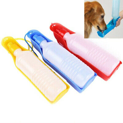 Portable Foldable Pet Sport Water Bottle Dog Cat Water Dispenser 500ML Outdoor