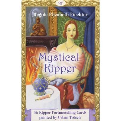 Mystical Kipper Oracle Card by Regula Elizabeth Fiechter - BrandNew