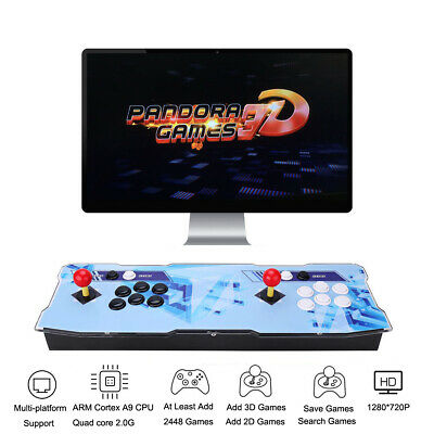 Pandora Box 9 2222 in 1 Arcade Game Console 2 Player Game Controls Favorite List