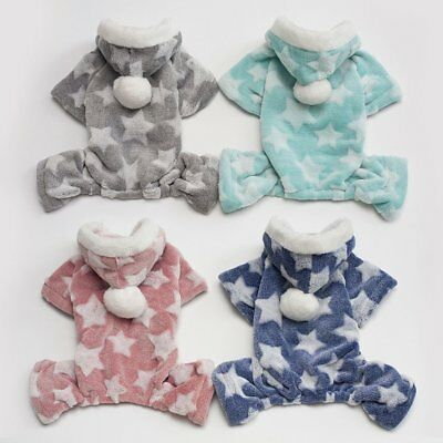 Warm Dog Clothes For Small Dogs Soft Winter Pet Clothing Star Cotton Dog ME