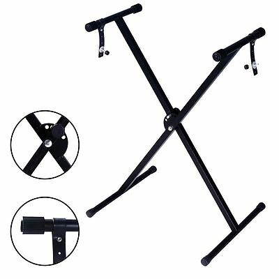 """17"""" to 37"""" Pro Audio Fold Adjustable X Style Keyboard Electric Piano Stand"""