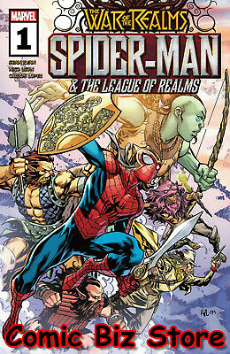 War Of The Realms Spider-Man & League Of Realms #1 (Of 3) (2019) Main Cover
