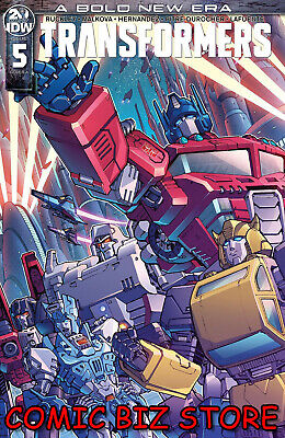 Transformers #5 (2019) 1St Printing Griffith Main Cover A Idw Comics