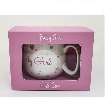 Baby Girl First Cup Pink Baby Shower Gift