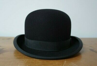 cac72ee0d750a Good Quality Vintage Original Black Bowler Hat Christy s London Made in  England