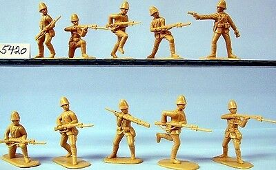 8 Chinese Boxers /& 10 Russians. Armies in Plastic 5676 Boxer Rebellion 1//32