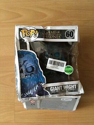 Funko Pop Game Of Thrones Giant Wight 2018 Spring Exclusive Figure (Damaged Box)