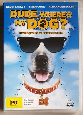 Dude, Where's My Dog? (Kevin Farley & Trish Cook) DVD GREAT condition (Region 4)