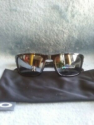 9605b46b2349a Oakley Sliver sunglasses 9408-05 polished black prizm black polarized lens.