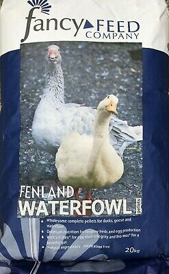 Fancy Feed Company Fenland Waterfowl Pellets Duck Goose Food 5kg/20kg