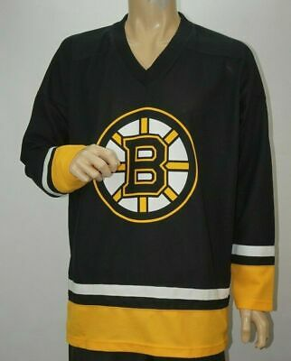 NHL Bruins Chara 33 Boston Hockey sur Glace Maillot Taille S